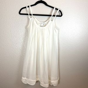 White Neiman Marcus Sun Dress Small